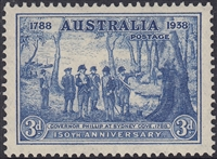 Governor Phillip at Sydney Cove, 1788