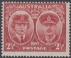 SG 209 1945 Arrival of Duke and Duchess of Gloucester 2½d Lake MINT HINGED Original Gum