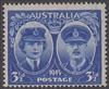 SG 210 1945 ARRIVAL OF DUKE AND DUCHESS OF GLOUCESTER 3½d Blue MINT with ORIGINAL GUM