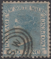 NSW SG 192 1863-1869 two pence