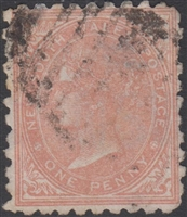 NSW SG 222 1882-1897 one penny