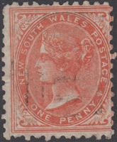 NSW SG 223f 1884 one penny