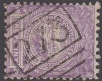 NSW numeral postmark 273 LISMORE barred numeral on 1d View of Sydney New South Wales Australia