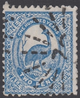 SG 254 2d emu Centenary of NSW Two Pence New South Wales Australia