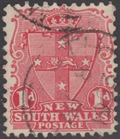 NSW SG 314 1902-03 one penny shield