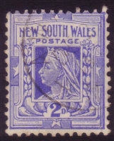 NSW SG 315 1902-03 two pence