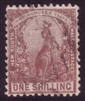 NSW SG 324 1902-03 one shilling Eastern grey kangaroo