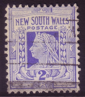 NSW SG 335 1905-10 two pence