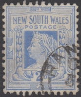 NSW SG 336 1905-1910 two pence