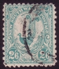 NSW SG 349 1905-1910 two shillings six pence blue-green