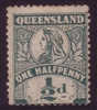 QLD SG 262 1899-1906 halfpenny mint hinged MH