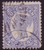 QLD SG 290 / ACSC Q21  1907-11 2d  SINGLE LINE PERFORATION