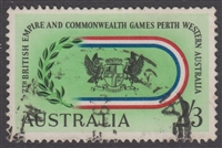 SG 347 1962 7th Commonwealth Games 2s3d Black, red, blue and green