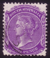 SA SG 178 1895-1903 2d bright violet Perforation 13