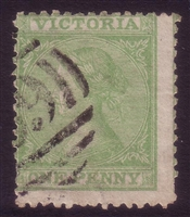 VIC SG 131 1867-81 Laureate One Penny