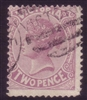 VIC SG 211 1882-84 Two Pence Mauve