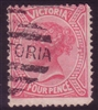 VIC SG 213 1882-84 Four Pence Rose-Red