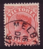 VIC SG 337 1896-99 Four Pence red
