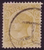 VIC SG 361 1899-1901 Three Pence bistre-yellow