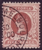 VIC SG 364 1899-1901 five pence red-brown