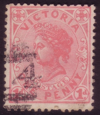 VIC SG 385 1901-10 One Penny