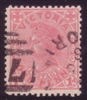 VIC SG 417a 1905-13 One Penny pale rose
