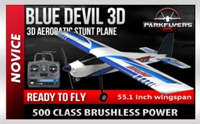 Blue Devil 500  RC Plane