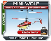 Mini Wolf RTF RC Heli, Remote control heli, Rc Heli, Rc helicopter