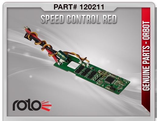 Orbot Speed Control (Red)