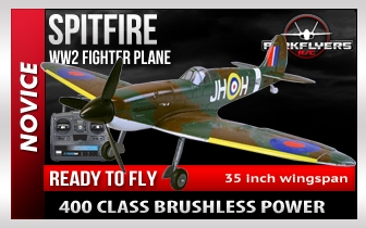 Spitfire RTF Electric RC Plane