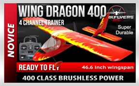 Wing Dragon 400 V2 RC Plane