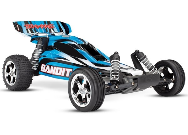 24054-4 - Bandit: 1/10 Scale Off-Road Buggy. Ready-To-Race with TQ 2.4 radio system and XL-5 ESC (fwd/rev