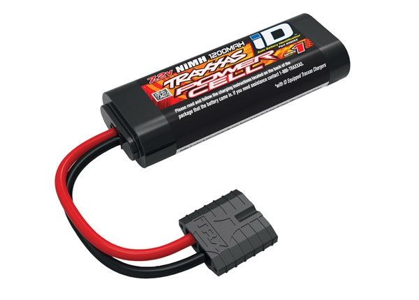 2925X - Battery, Series 1 Power Cell, 1200mAh (NiMH, 6-C flat, 7.2V, 2/3A)