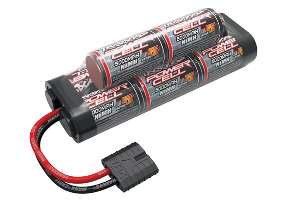 2963X - Battery, Series 5 Power Cell, 5000mAh (NiMH, 8-C hump, 9.6V)