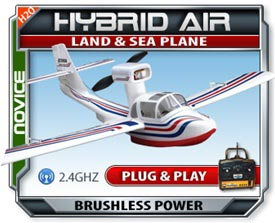 Hybrid Air Plug & Play Electric RC Plane