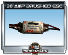 30 amp brushed speed control