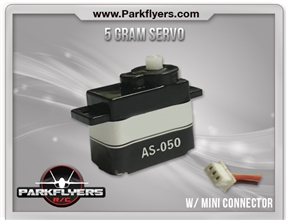 5 Gram Servo w/ Mini Connector