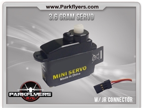 3.6g Servo with JR Universal Connector