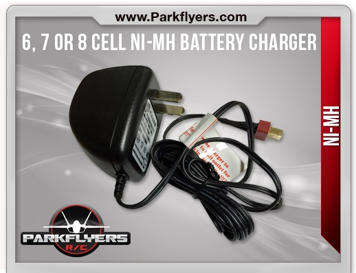 6 & 7 Cell NiMH Battery Charger