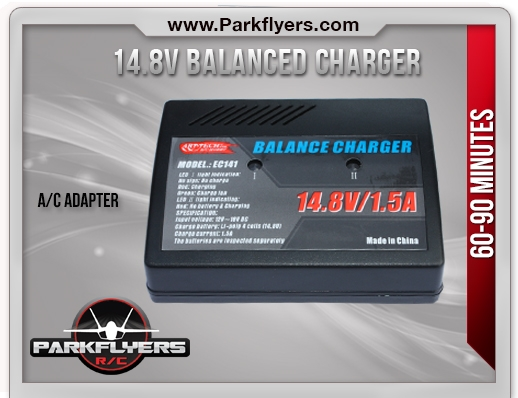14.8v Balanced Charger with A/C Adapter