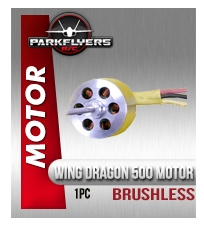 Wing Dragon 500 Class Brushless Motor