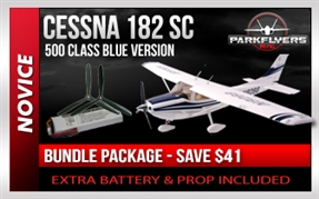 Cessna 182 1/5 Scale Super Class BUNDLE PACKAGE