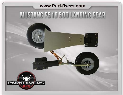 Mustang P51D 500 Class Retractable Landing Gear