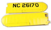 J3 Piper Cub EPS Main Wing Set
