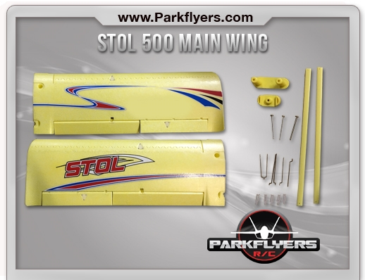 Stol 500 Main Wing Set w/ Wing Struts