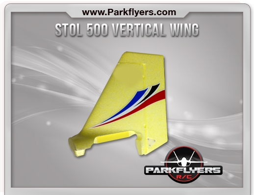Stol 500 Rudder/Vertical Wing