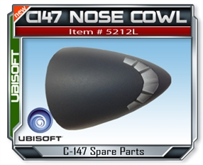 Splinter Cell C147 Plastic Nose Canopy Set