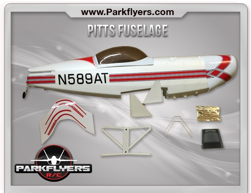 Pitts Biplane Fuselage Set