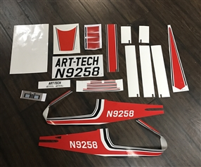 Cessna 1/5 Scale Super Class Sticker Set