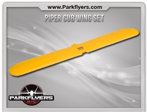 Piper Cub Wing Set w/Servo/Linkage